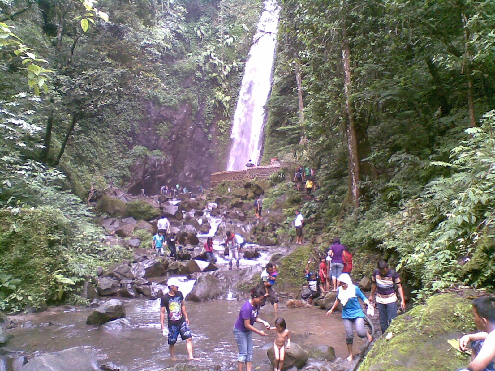 Tempat Wisata Air Terjun Kakek Bodo – Tretes, Pasuruan, Jawa ...